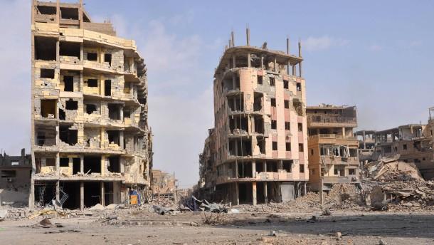 IS in Syrien militärisch vor dem Ende