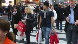 Der amerikanische Konsument und seine Laune
