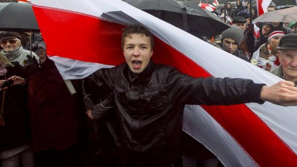 Belarussischer Exil-Oppositioneller in Minsk festgenommen
