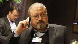 Khashoggi soll Konsulat nicht auf normalem Weg verlassen haben