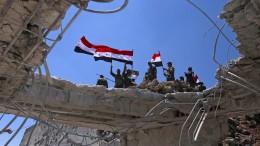 Rebellen in Südsyrien geben weiteres Gebiet auf
