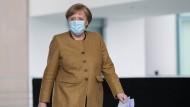 Will, dass die Notbremse nicht mehr Auslegungssache ist: Bundeskanzlerin Angela Merkel, hier am Dienstag in Berlin