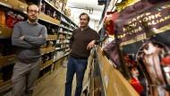 Kaffeetrinker: Boris Häfele (links) und Philip Müller von Roast Market