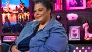 Roxane Gay in einer Live-Sendung im amerikanischen Fernsehen