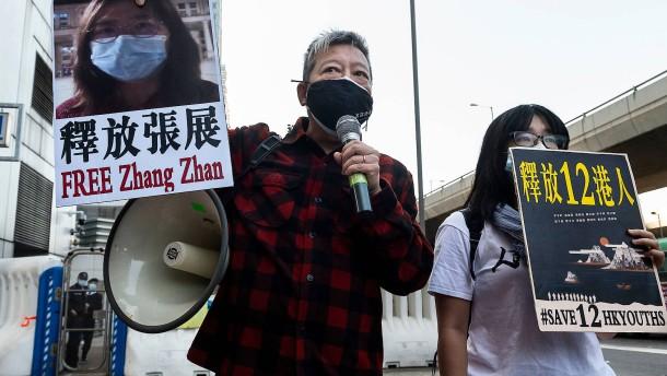Haftstrafe für chinesische Bloggerin