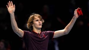 Erfolgreicher Start für Alexander Zverev