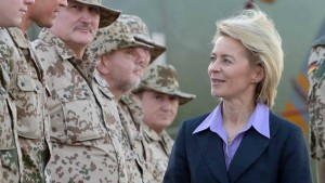 Von der Leyen: Bundeswehr nicht überlastet