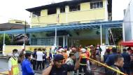 Mehr als 20 Kinder sterben bei Feuer im Schlafsaal einer Schule