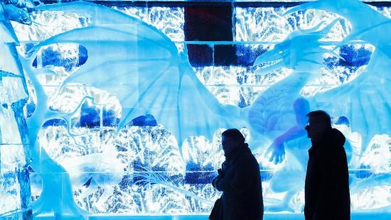 Magie aus Eis und Licht
