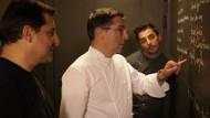 Die drei Brüder bei der Arbeit