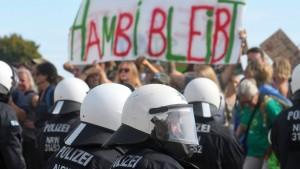 Polizei verbietet Demonstration