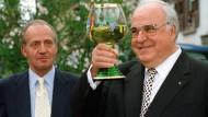 Helmut Kohl war auch ein Wein-Kenner, vor allem der Tropfen aus der Pfalz.