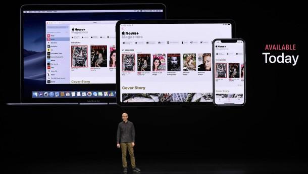 Nachrichten aus dem Apple-Mixer