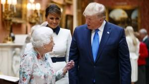 Queen richtet mahnende Worte an Trump