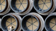 Röhren für eine Pipeline in Osteuropa