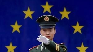 China mit vielfältigen Interessen