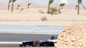 Allein im Gegenwind: Die Formel-1-Teams fahren, wie hier ein Williams in Bahrein, nur für sich und n