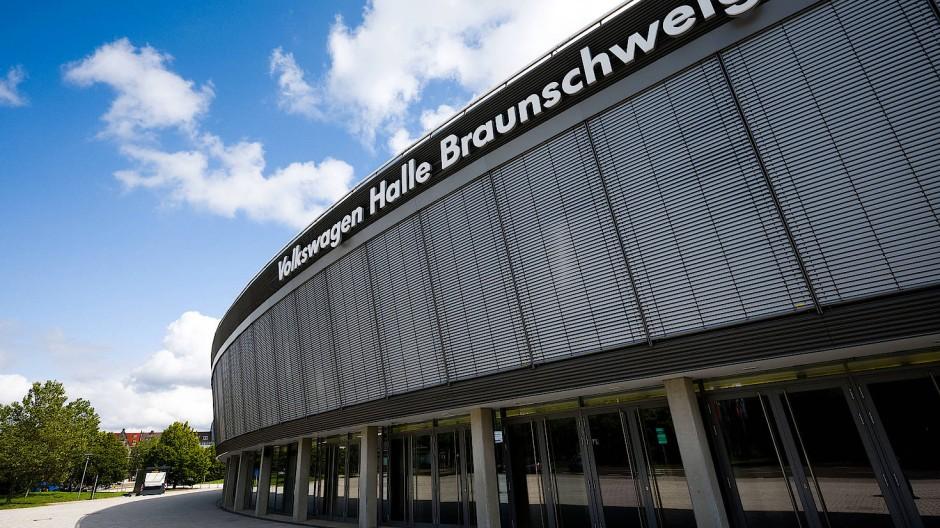 Volkswagen ist Namenssponsor der Halle in Braunschweig