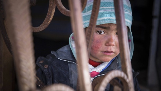 Kinder im Syrienkrieg
