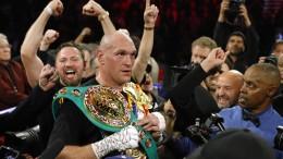 Fury ist wieder Box-Weltmeister im Schwergewicht