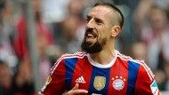 Ohne Ribéry gegen Manchester City