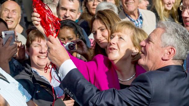 """Merkel: """"Wir haben vieles richtig gemacht"""""""