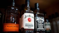 Whiskey-Flaschen aus Amerika