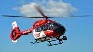 Mehr als 5000 Einsätze für Hessens Rettungsflieger