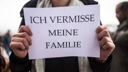 Trennung von Kindern und Partnern belastet Geflüchtete schwer