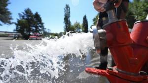 Die Wasserversorgung wird allmählich knapp