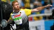 Die Sportler, so auch der deutsche Diskuswerfer Christoph Harting, dürfen während der Olympischen Spiele in Zukunft mehr selbst werben.