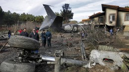 15 Tote bei Flugzeugunglück im Iran