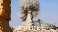 Die Zerstörung der Tempel von Palmyra durch den IS sorgte weltweit für Entsetzen.