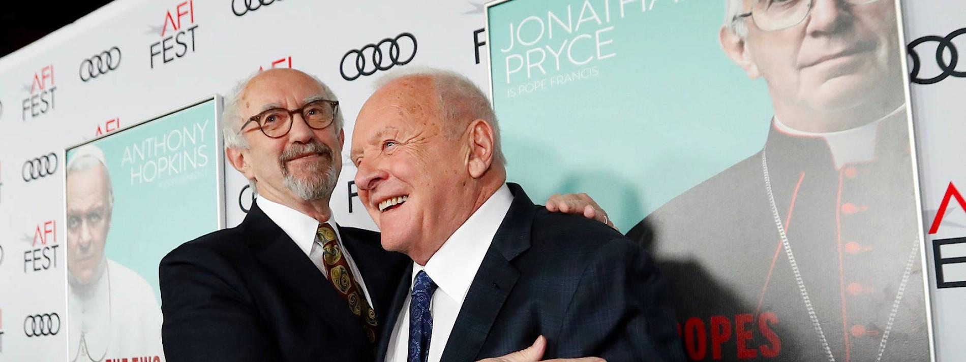 """Hopkins und Pryce sind """"Die zwei Päpste"""""""