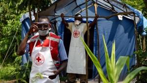 Der schwere Kampf gegen Ebola