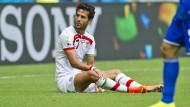 Inzwischen erfahren die Spieler (Foto: Masoud Schodschaei) auch in sozialen Netzwerken Unterstützung iranischer Bürger.