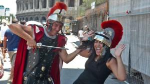Rom verbietet verkleidete Zenturionen