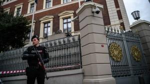 Fünf Deutsche in der Türkei festgenommen
