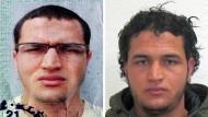 Der Berlin-Attentäter Anis Amri auf dem Fahndungsfoto