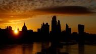 """Geht hier die Sonne über dem künftigen """"Singapur an der Themse"""" auf?"""