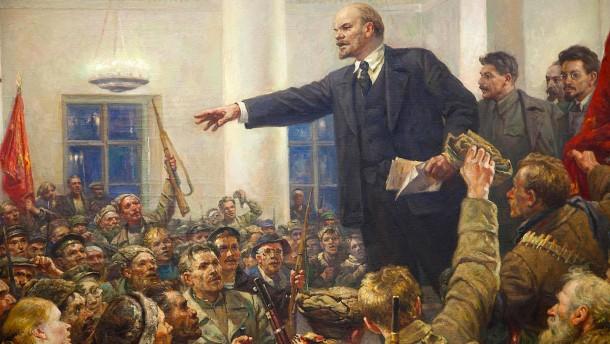 Lenins Verachtung für das Spießergerede