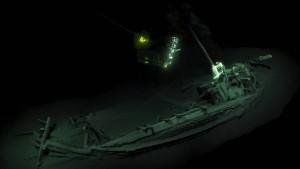 2400 Jahre altes intaktes Schiffswrack entdeckt