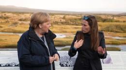 Merkel trifft Vertreter nordischer Länder