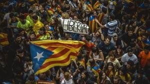 Wie der Kampf um Unabhängigkeit Spanien zerreißt