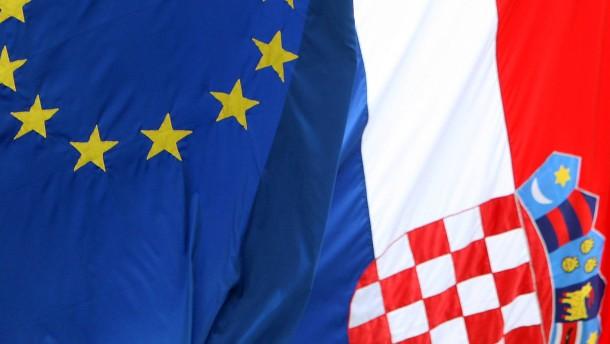 Die EU heißt ein neues Problemland willkommen
