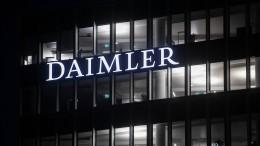 Polizei nimmt mutmaßliche Daimler-Erpresser fest