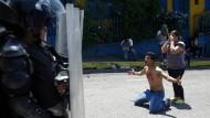 Schüler bei Protesten getötet