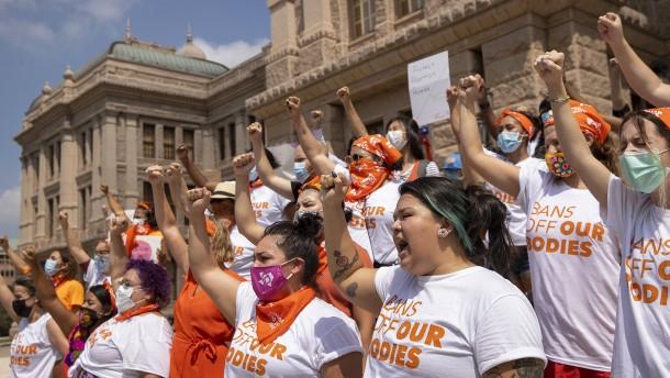 Massenproteste gegen texanisches Abtreibungsgesetz