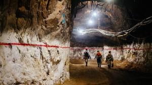 Südafrikas Goldschürfer im Rampenlicht