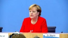 """Merkel nennt Flüchtlingspolitik 2015 """"wichtig und richtig"""""""